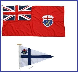 Burgee and Ensign combination